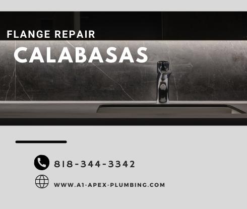 toilet flange repair cost in Calabasas