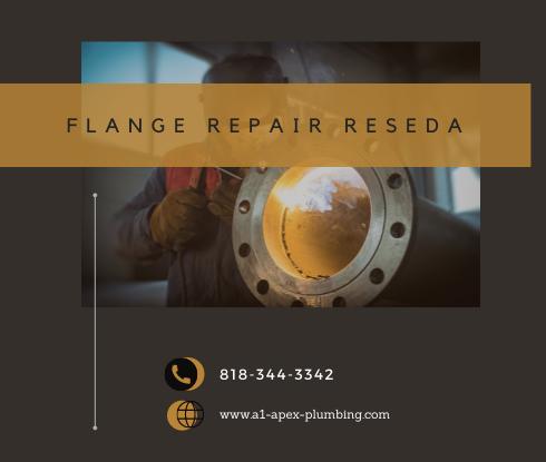 Toilet flange repair cost in Reseda