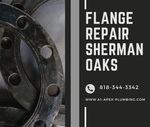 toilet flange repair cost in Sherman Oaks