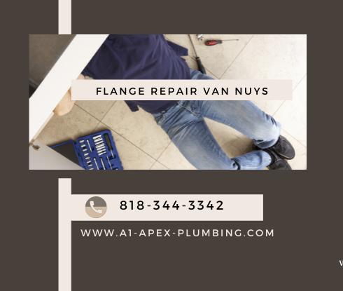 Toilet flange repair cost in Van Nuys