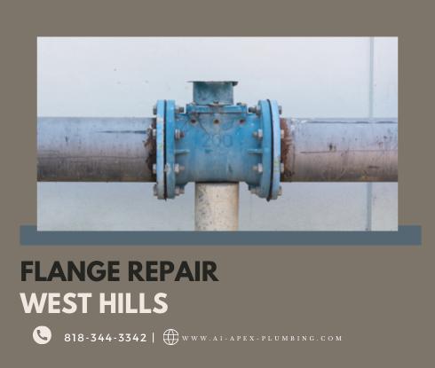 Toilet flange repair cost in West Hills