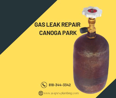 Minor gas leak repair in Canoga park