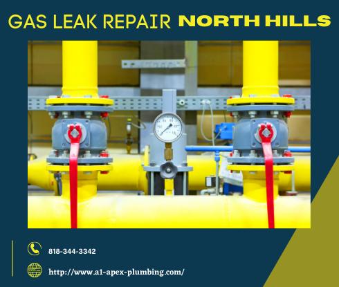 Natural gas leak repair cost in North Hills