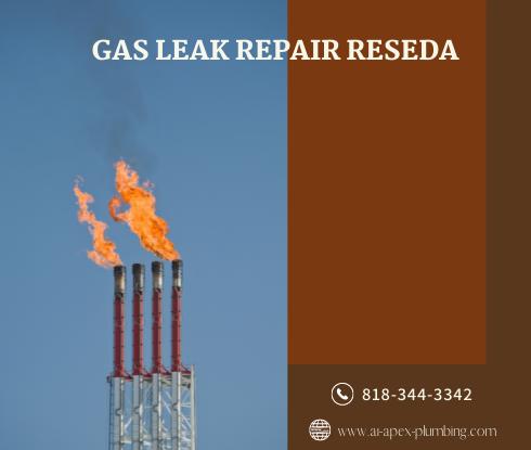 Natural gas leak repair cost in Reseda