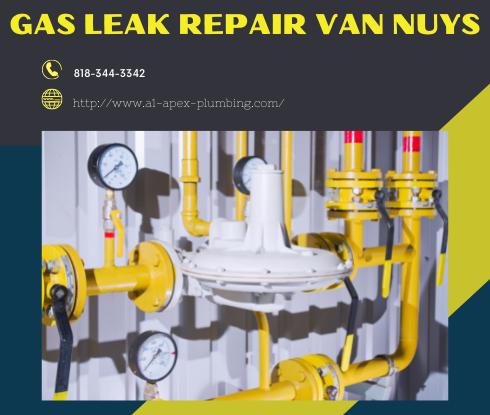 Furnace gas leak repair in Van Nuys