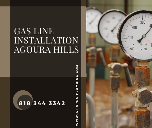 Natural gas line installation cost in Agoura Hills