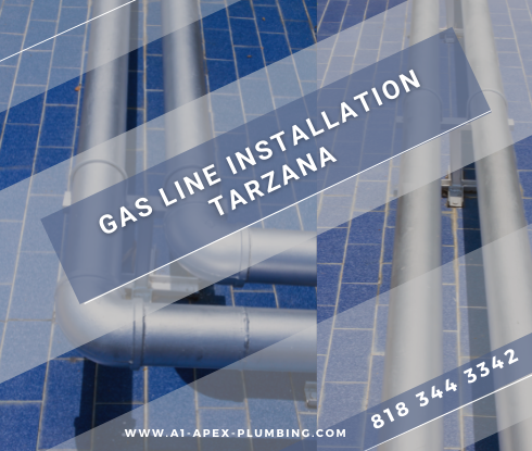 How to install gas line for stove in Tarzana