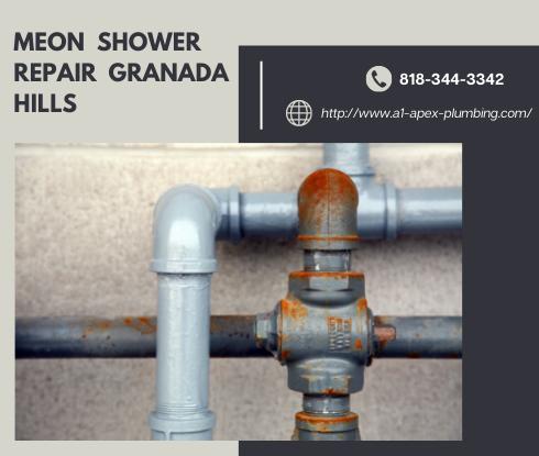 Moen shower faucet parts repair in Granada Hills