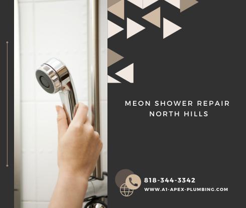 Moen shower faucet parts in North Hills