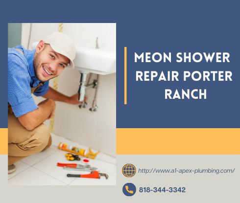 Moen shower handle replacement in Porter Ranch