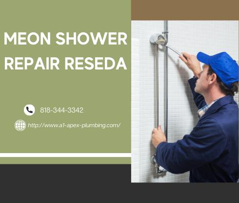 Moen shower handle loose in Reseda
