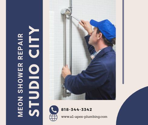 Moen shower handle replacement in Studio City