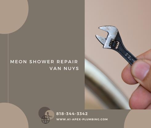 Moen shower handle replacement in Van Nuys