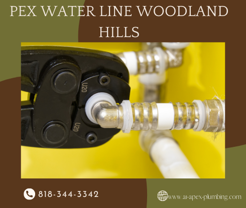 How to install pex pipe in Woodland Hills