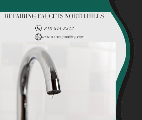 Compression faucet repair in North Hills