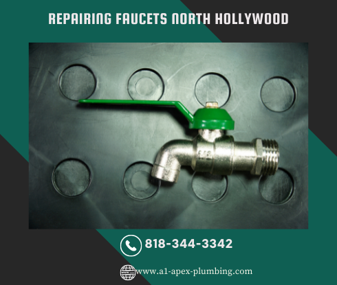 How to fix faucet handle in North Hollywood