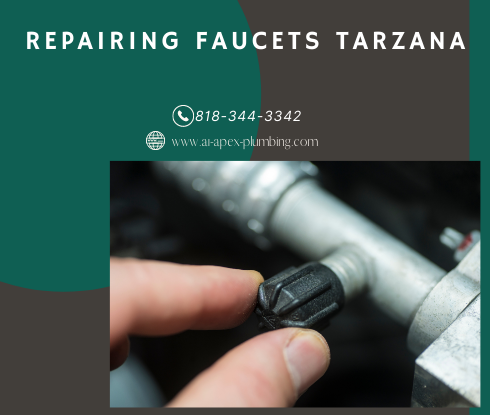 How to fix faucet handle in Tarzana