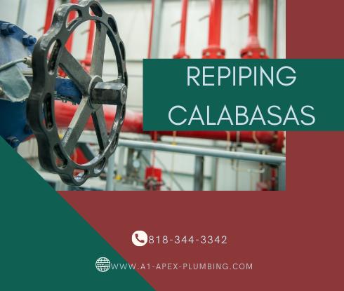 Repiping service in Calabasas
