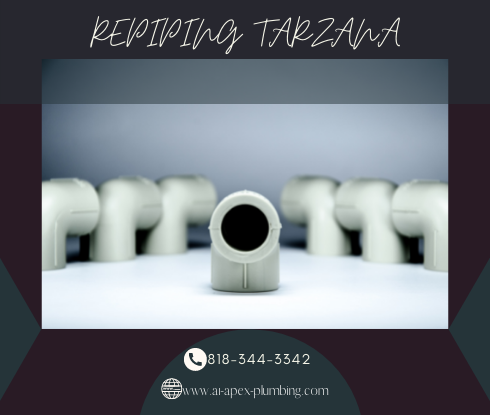 Repiping specialist in Tarzana