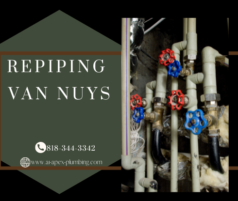 Repipe specialists near me in Van Nuys