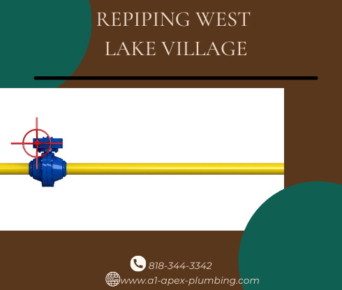 Repiping with copper in West Lake Village