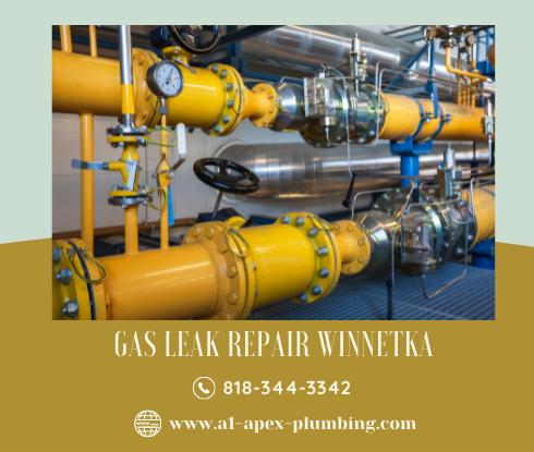 Natural gas leak repair near me Winnetka