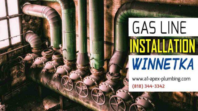 Gas line Installation Winnetka