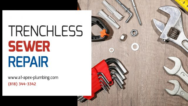 TRENCHLESS SEWER REPAIR PLUMBER